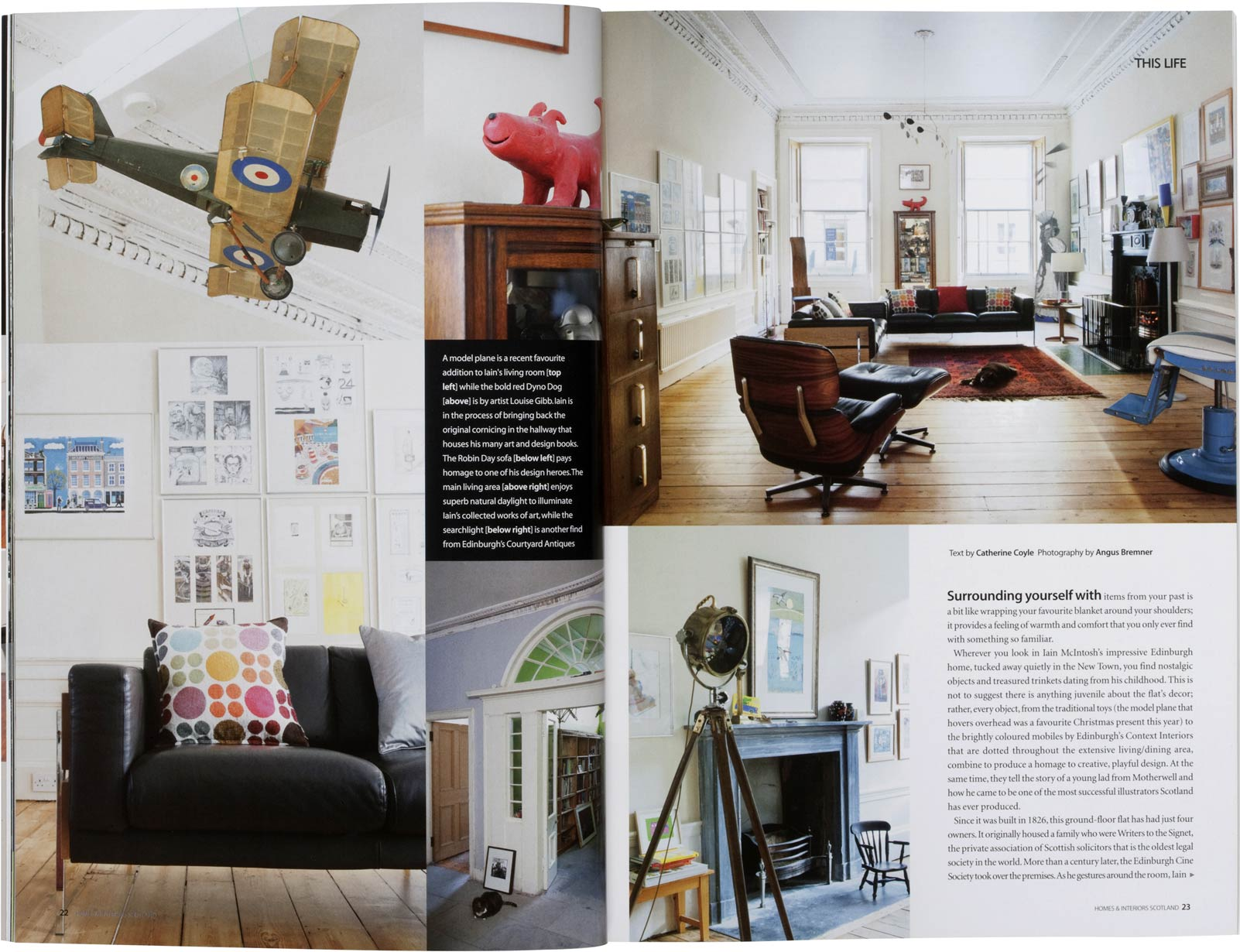 angus bremner photography homes interiors scotland magazine